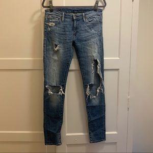 Ralph Lauren denim supply distressed jean